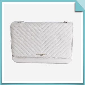 Karl Lagerfeld Paris Charlotte Quilted Pebble Bag